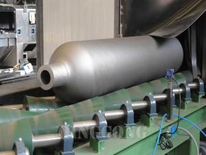 gas cylinder shot blasting machine 2