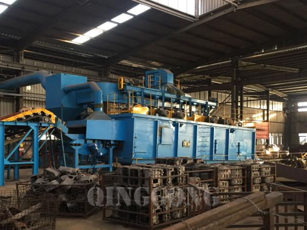 continuous rocker barrel shot blasting machine 2