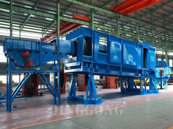 continuous rocker barrel shot blasting machine 3
