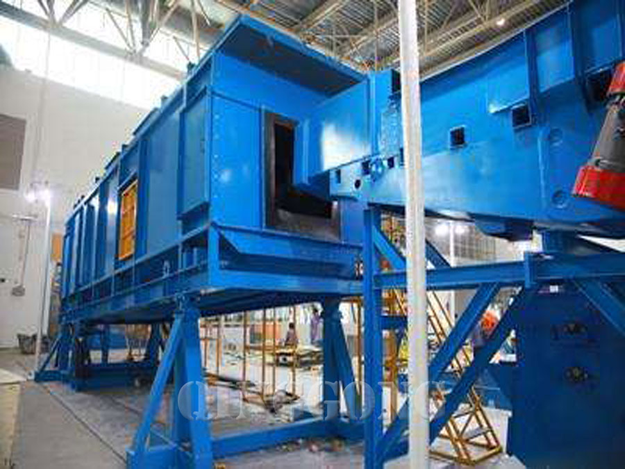 continuous rocker barrel shot blasting machine 4