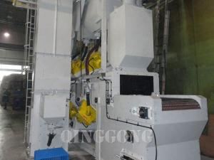 mesh belt shot blasting machine 2