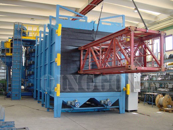 Shot Blasting Machine for Construction Industry