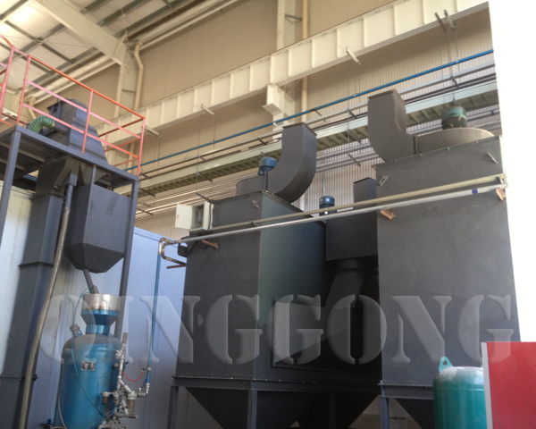 Auto Abrasive Recovery System of Sandblasting Room